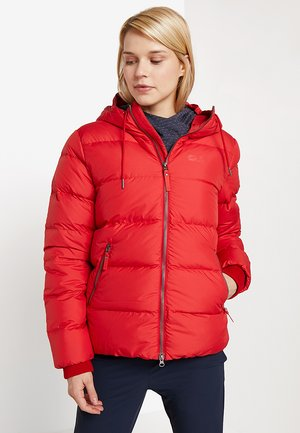 CRYSTAL PALACE JACKET - Chaqueta de plumas - ruby red