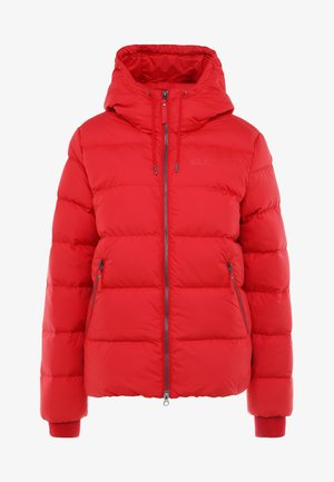 CRYSTAL PALACE JACKET - Down jacket - ruby red