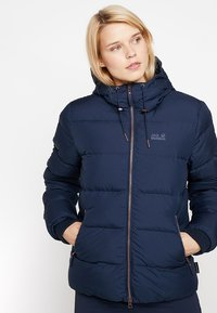 Jack Wolfskin - CRYSTAL PALACE JACKET - Dunjakke - midnight blue - 0