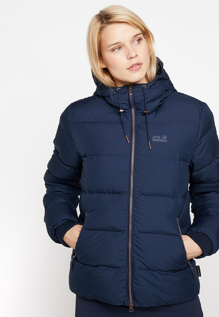 Jack Wolfskin - CRYSTAL PALACE JACKET - Dunjakke - midnight blue