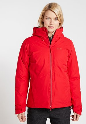 ARGON STORM JACKET - Winter jacket - red fire