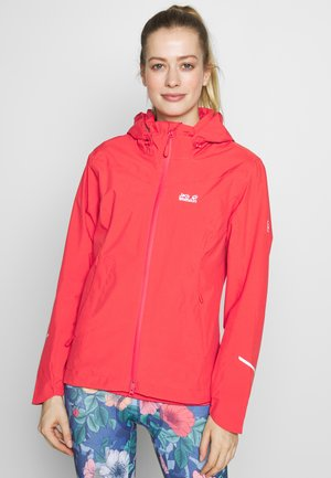 TOUR - Hardshelljacke - tulip red