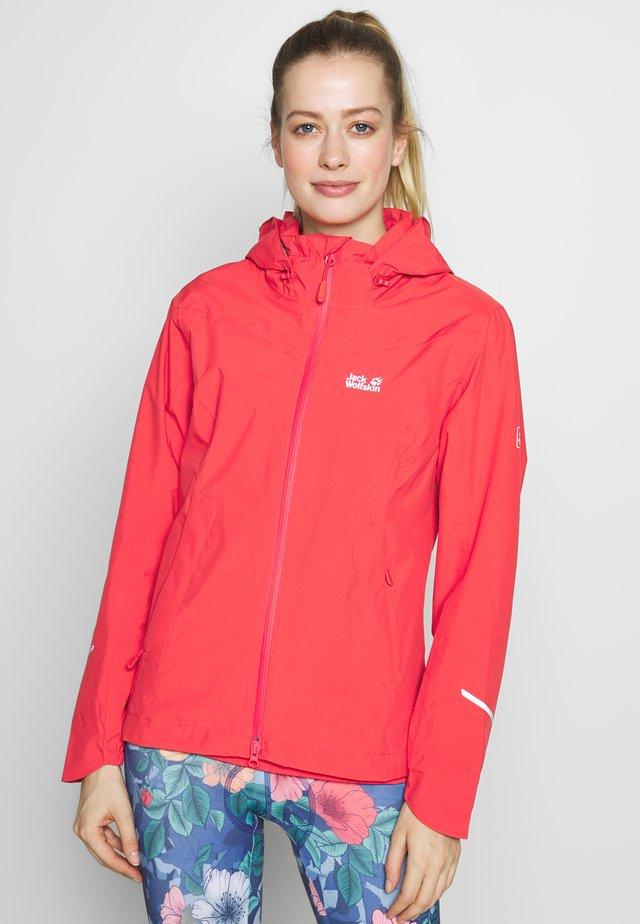 TOUR - Hardshell jacket - tulip red