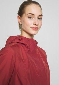 Jack Wolfskin - CAPE YORK COAT - Waterproof jacket - auburn - 4
