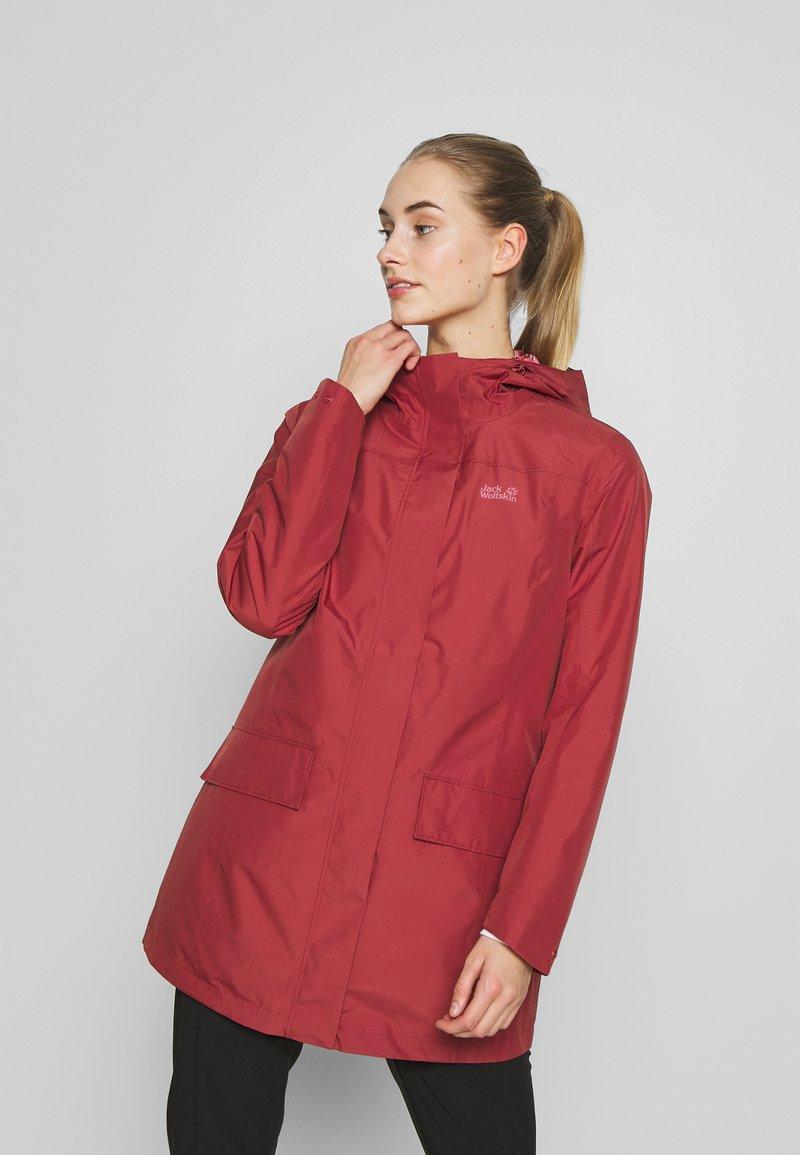 Jack Wolfskin - CAPE YORK COAT - Waterproof jacket - auburn