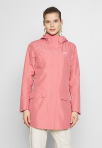 Jack Wolfskin - CAPE YORK COAT - Waterproof jacket - rose quartz - 0