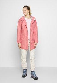 Jack Wolfskin - CAPE YORK COAT - Waterproof jacket - rose quartz - 1