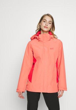 SAVOIA PEAK - Hardshell jacket - desert rose