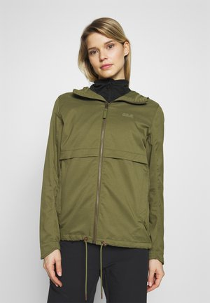 SENEGAL JACKET - Waterproof jacket - delta green