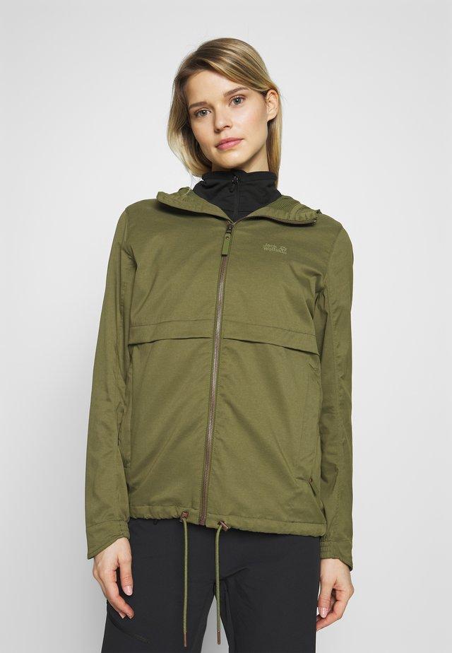 SENEGAL JACKET - Waterproof jacket - delta green