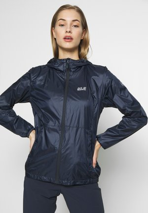 BREATHER - Waterproof jacket - night blue