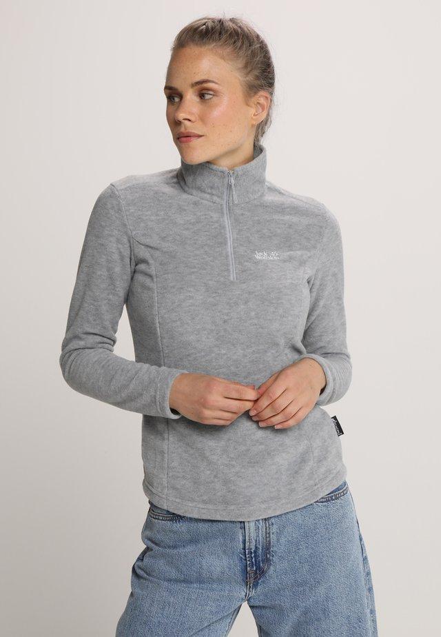 GECKO WOMEN - Fleece jumper - slate grey