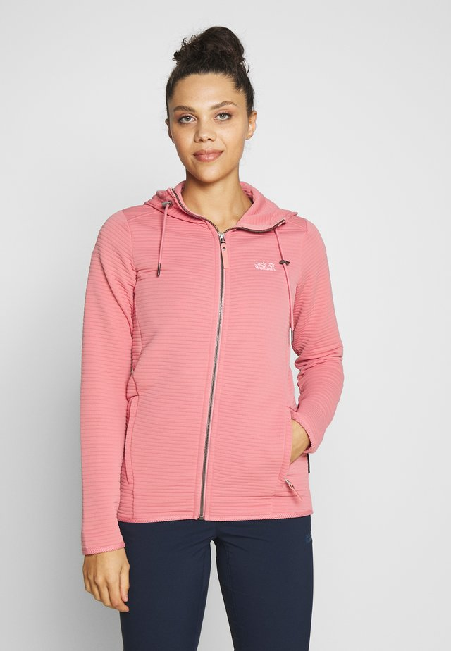 MODESTO HOODED WOMEN - Outdoor jakke - rose quartz