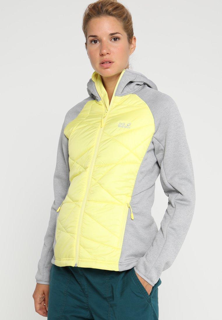 Jack Wolfskin - SKYLAND CROSSING WOMEN - Outdoor jacket - lemon