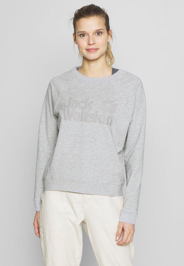 LOGO - Sweater - light grey