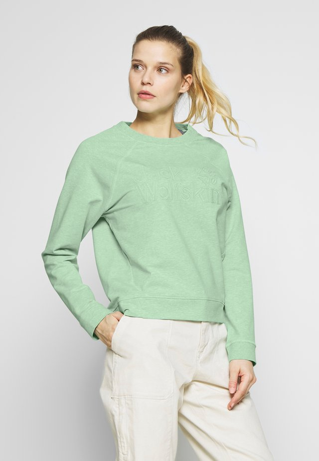 LOGO - Sweatshirts - light jade