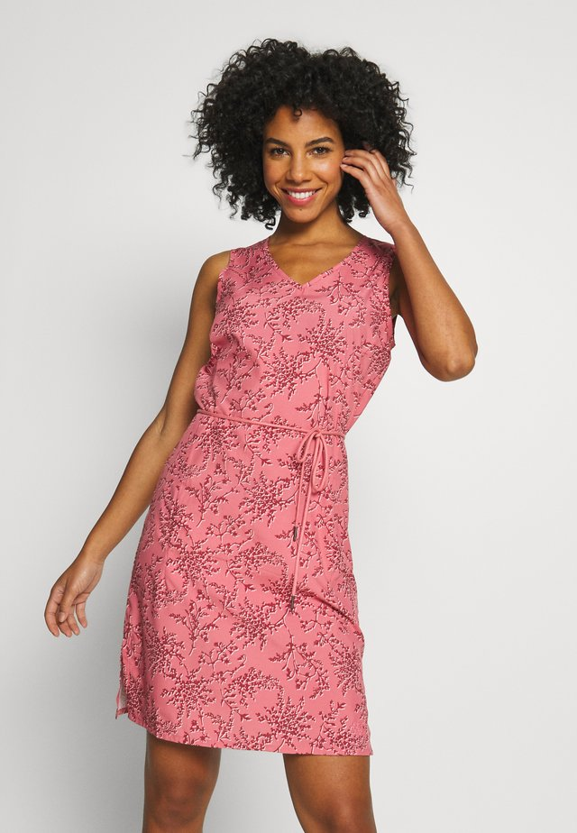 TIOGA ROAD PRINT DRESS - Urheilumekko - rose quartz