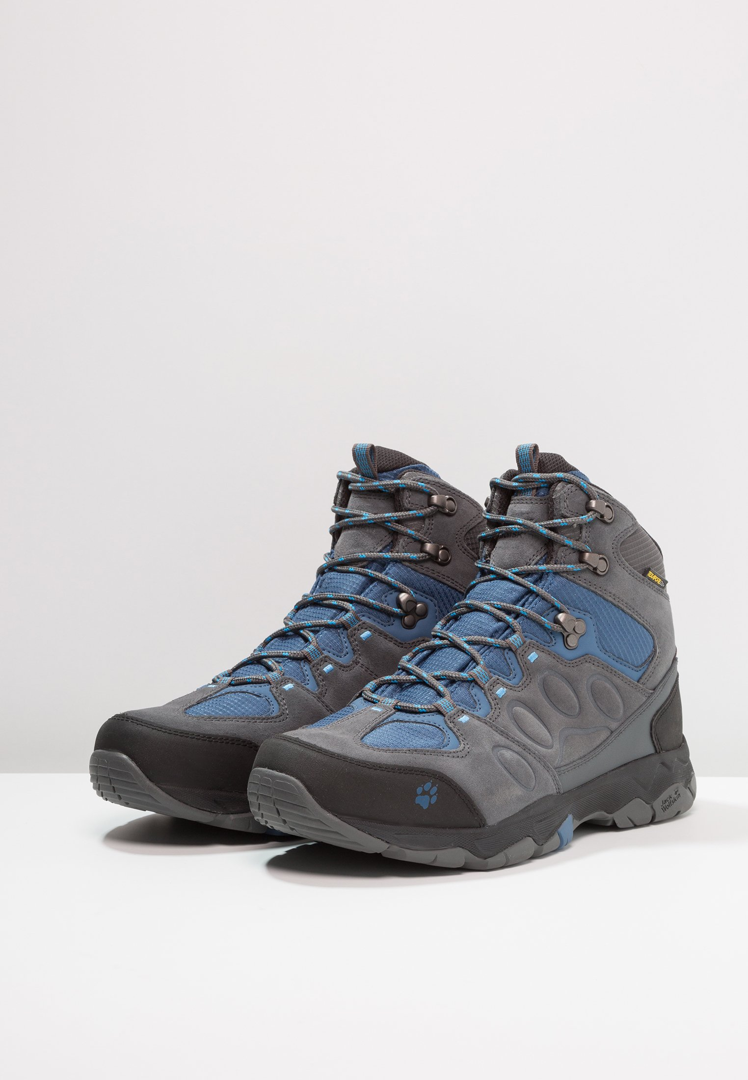 Jack Wolfskin MTN ATTACK 6 TEXAPORE MID - Chaussures de marche ocean wave