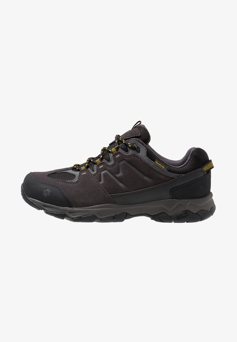 Jack Wolfskin - MTN ATTACK 6 TEXAPORE - Hiking shoes - burly yellow