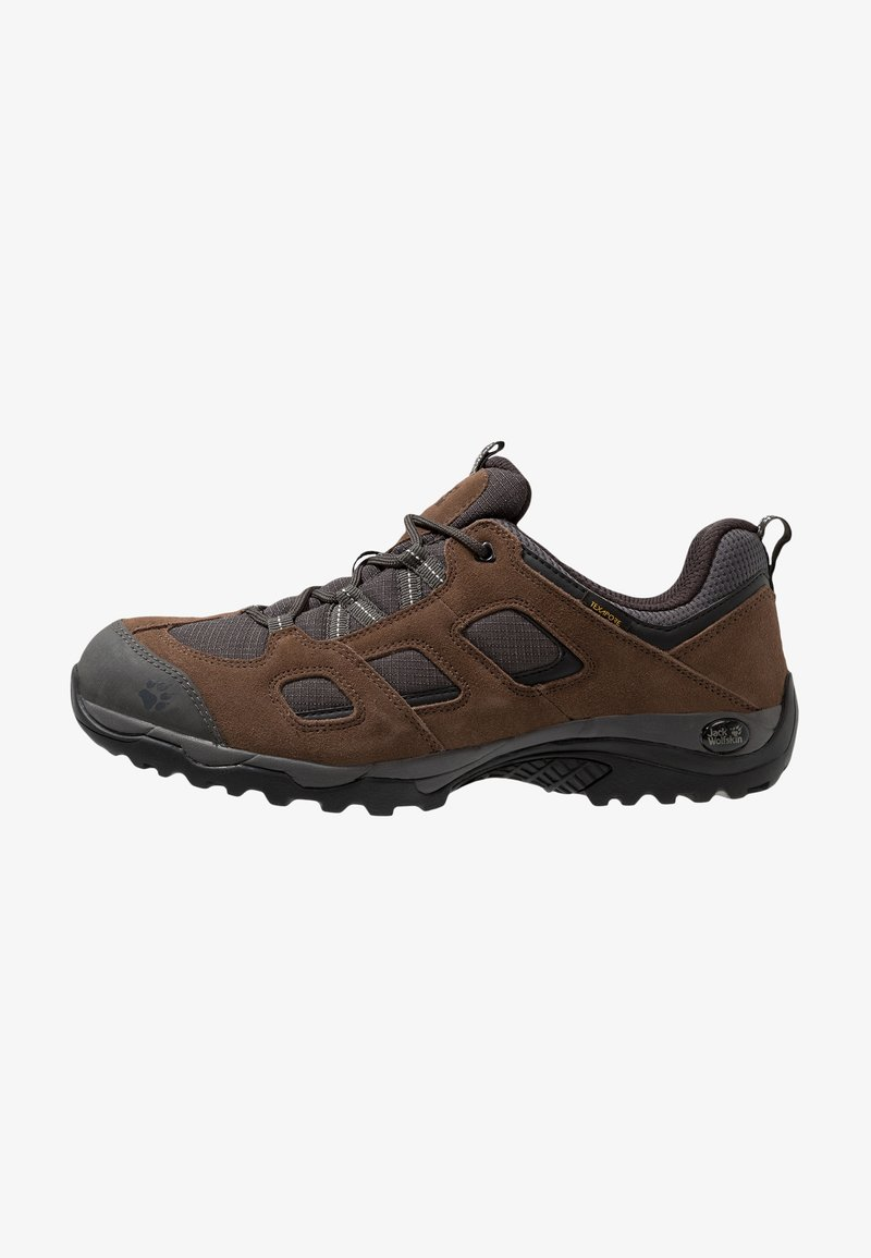 Jack Wolfskin - VOJO HIKE 2 TEXAPORE LOW - Hiking shoes - dark wood