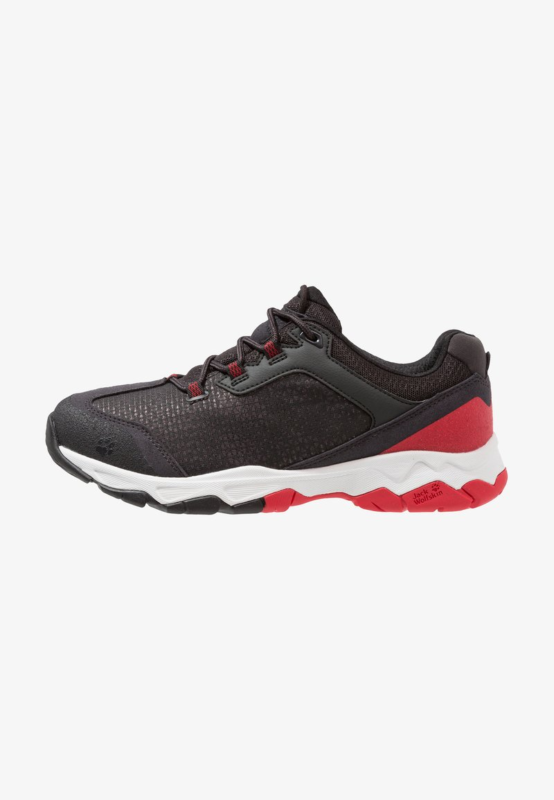 Jack Wolfskin - ROCK HUNTER LOW - Walking trainers - ruby red