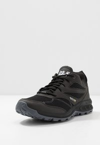 Jack Wolfskin - WOODLAND VENT LOW - Hikingsko - black/grey - 2