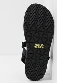 Jack Wolfskin - OUTFRESH - Sandały trekkingowe - black/light grey - 4