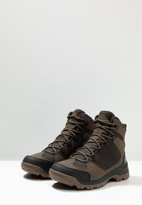 Jack Wolfskin - COLD TERRAIN TEXAPORE MID - Winter boots - coconut brown/black - 2