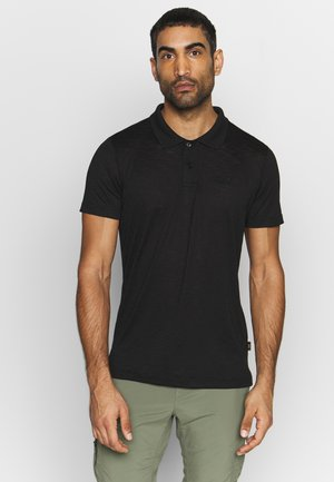 TRAVEL MEN - Poloshirt - black