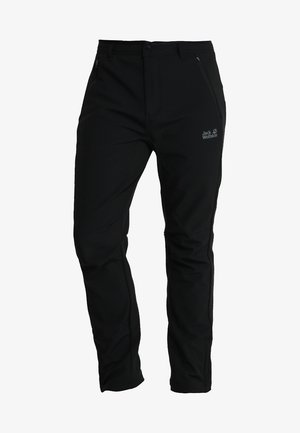 ZENON SOFTSHELL PANTS - Outdoor trousers - black