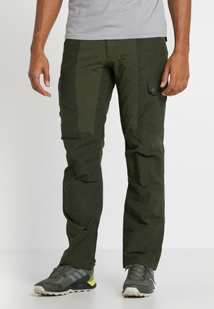 DAWSON FLEX PANTS - Cargo trousers - dark moss