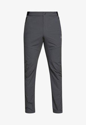 DELTA PANTS - Pantalones montañeros largos - dark iron