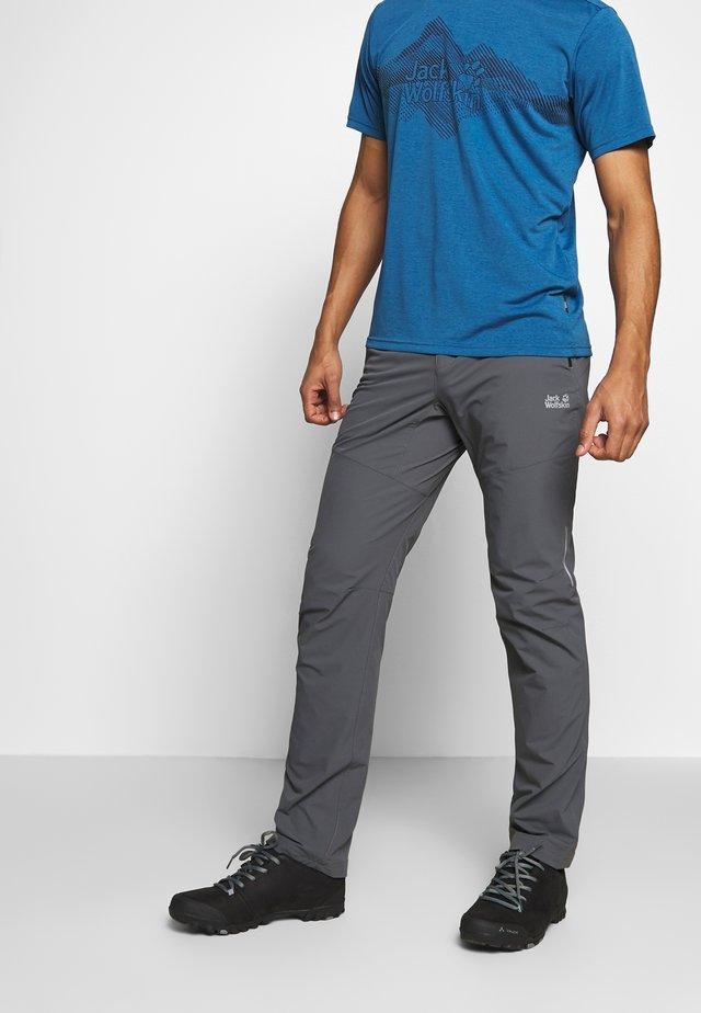 DELTA PANTS - Outdoorové kalhoty - dark iron