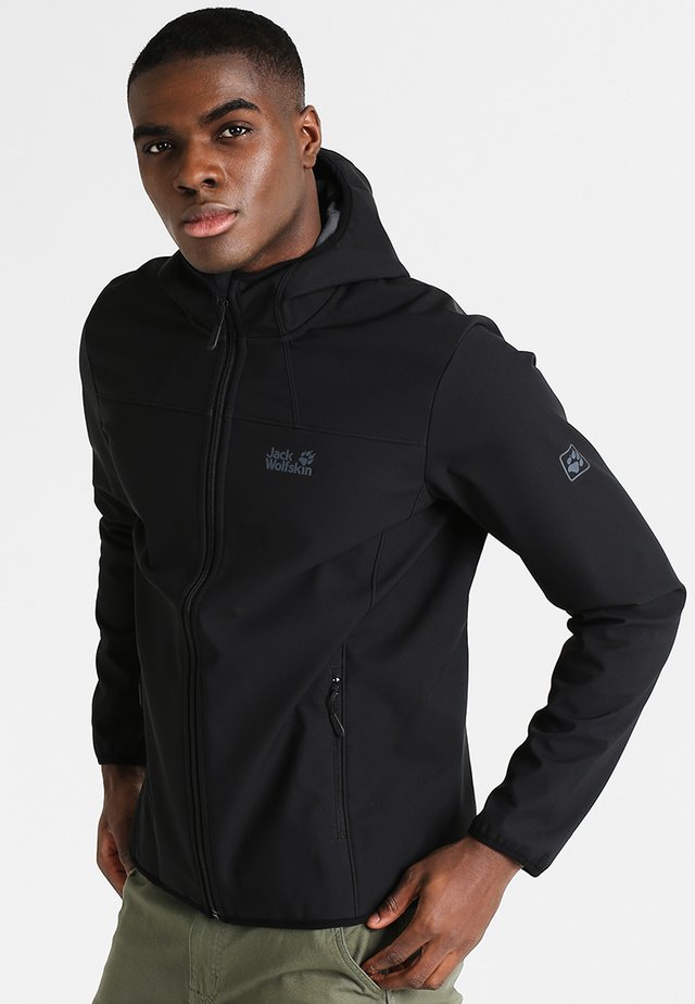 NORTHERN POINT - Chaqueta softshell - black