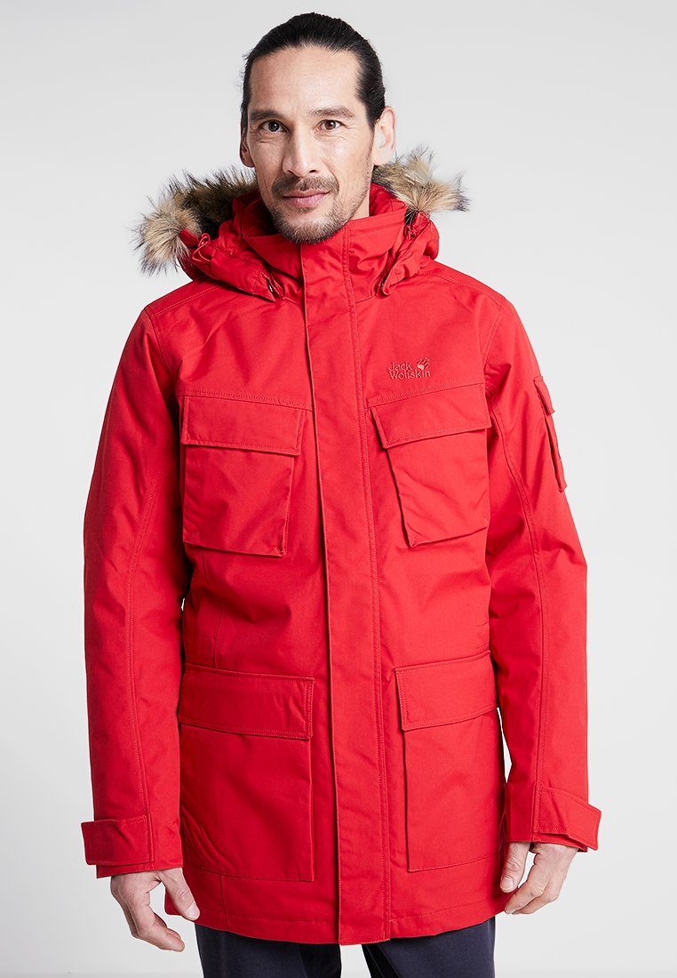 Jack Wolfskin - GLACIER CANYON - Winter coat - red lacquer