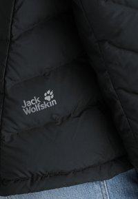 Jack Wolfskin - FAIRMONT - Untuvatakki - black - 9