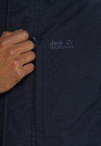 Jack Wolfskin - WEST JACKET - Outdoorjakke - night blue - 5