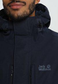 Jack Wolfskin - WEST JACKET - Outdoorjakke - night blue - 3