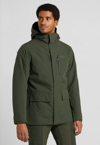 Jack Wolfskin - WEST JACKET - Kurtka Outdoor - dark moss - 0