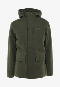 Jack Wolfskin - WEST JACKET - Kurtka Outdoor - dark moss - 4