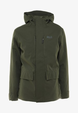 WEST JACKET - Outdoor jakke - dark moss