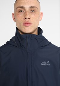 Jack Wolfskin - STORMY POINT JACKET  - Impermeable - night blue - 7