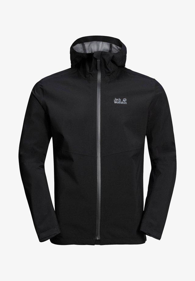 SHELL  - Waterproof jacket - schwarz (200)