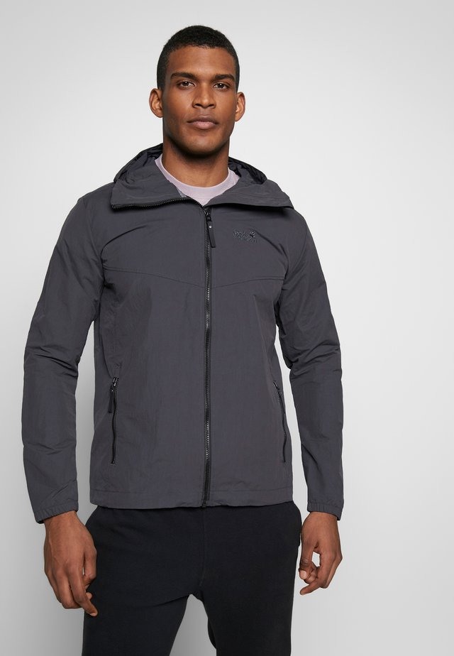 LAKESIDE JACKET  - Outdoor jacket - dunkelgrau