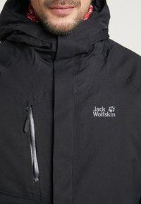 Jack Wolfskin - TROPOSPHERE JACKET - Outdoorjas - black - 5