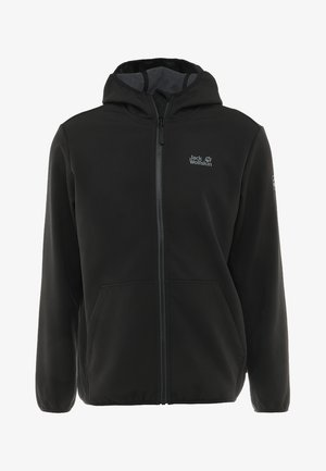 ESSENTIAL PEAK MEN - Softshellová bunda - black