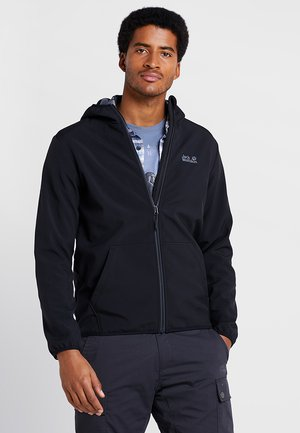 ESSENTIAL PEAK MEN - Giacca softshell - black