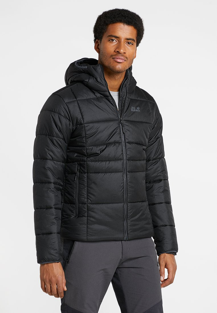 Jack Wolfskin - ARGON THERMIC JACKET - Winterjas - black