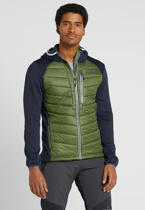 SKYLAND CROSSING MEN - Fleecejacke - moss