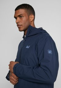 Jack Wolfskin - COAT - Hardshelljacka - night blue - 4
